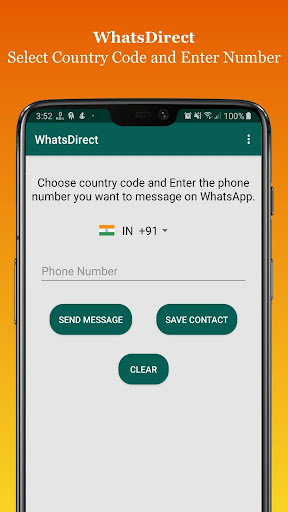 WhatsDirect - Chat without saving Number ss2