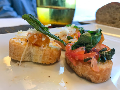appetizer-canaletto.jpg - An appetizer dish at the specialty restaurant Canaletto aboard ms Oosterdam.