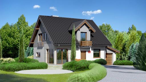 projekt Dom przy Wiosennej 3