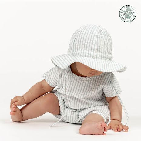 Gael - Randig solhatt till baby