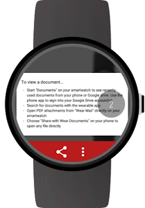 Documents for Android Wear screenshot 9