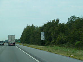 Photo: Cap vers l'Ouest sur l'Interstate 40