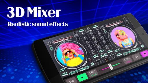 3D DJ Mixer - DJ Virtual Music 2020 screenshots 1