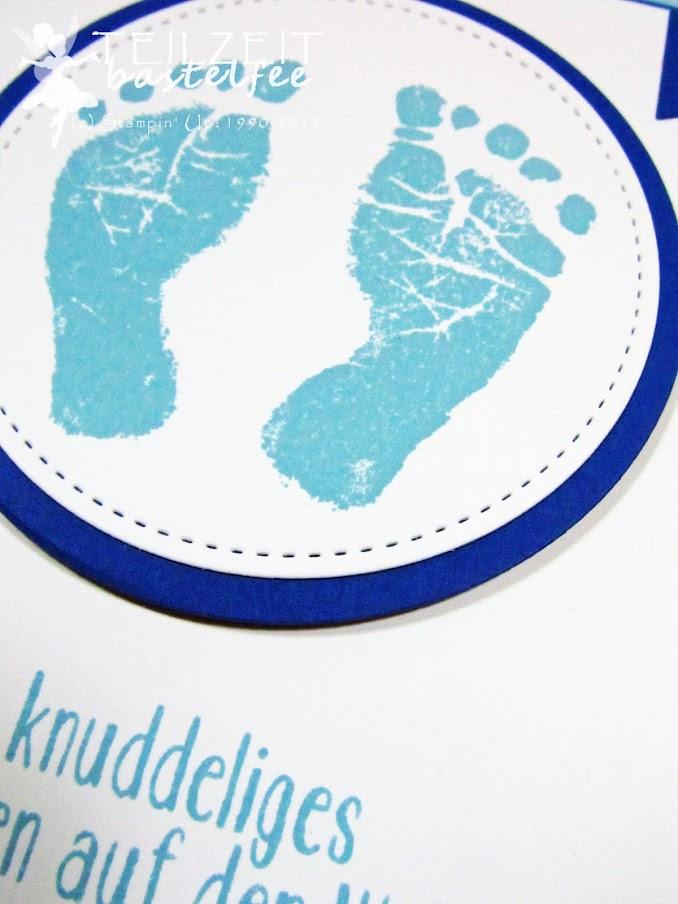 Stampin' Up! - Inkspire_me, Sketch Challenge, Baby, Geburt, Unentbärliche Grüße/Baby Bear, Baby Prints, Babyglück