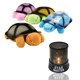 Lampa de veghe Twilight Turtle + Proiector astronomic Star Master