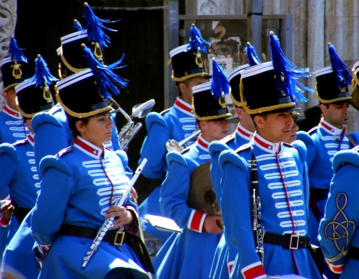 Parata in blu di Automaticjack
