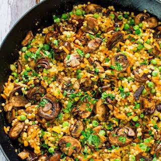 Couscous Chicken Mushrooms Recipes.