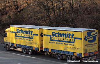 Photo: NEW ACTROS Schmitt Peterslahr       -----> just take a look and enjoy www.truck-pics.eu