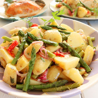 Potato, Asparagus & Pastrami Salad Recipe