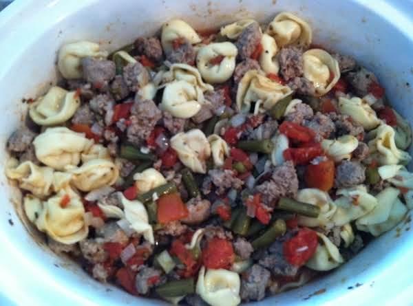 Sausage & Tortellini Stew Recipe