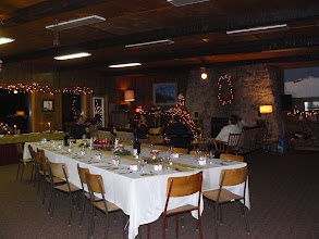Photo: small Christmas party
