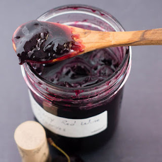 Cherry Red Wine Preserves