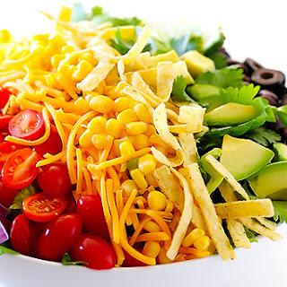 Skinny Taco Salad.