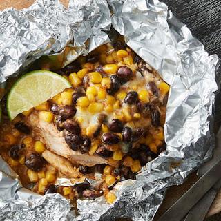 Southwest Pork Chop Foil Packs Recipe