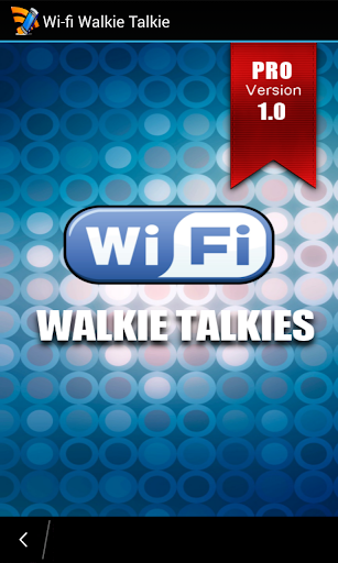 WIFI Walkie Taklies