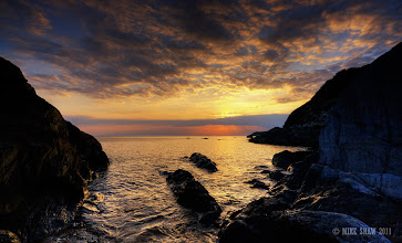 Photo: Good morning Googlers.  I thought I would share one last image from my favourite location, this is sunset at Combsegate beach in North Devon UK, its simply a beautiful place to be.  I am working on a couple of walk through's and hope to get them posted soon, I have one more share (coming up) and then I am about to fall asleep :)