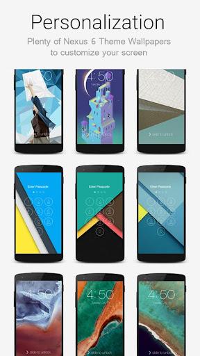 Lock Screen Nexus 6 Theme screenshot 11