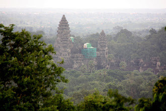Photo: Year 2 Day 44 -  Angkor Wat Viewed from the Top of Phnom Bakheng #2