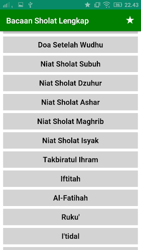Download Bacaan Sholat Lengkap Apk Latest Version App By Tkz