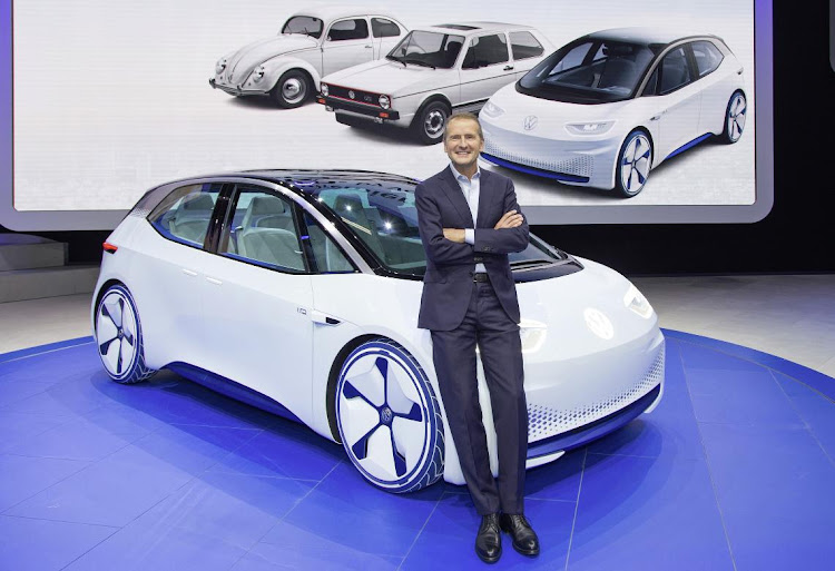 Volkswagen Group boss Herbert Diess is cleaning out those attached to Dieselgate. Picture: NEWPRESS UK