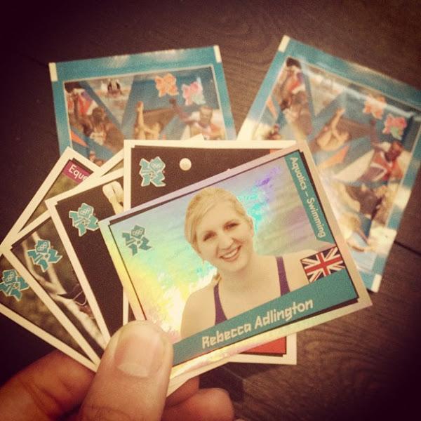 Photo: GREAT start, Cadbury Ambassador Rebecca dlington :)