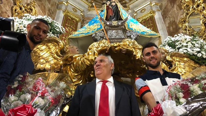 En 2018 Alfonso García realizó su última ofrenda floral.