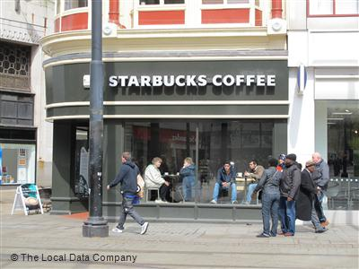 Starbucks Coffee On Piccadilly Coffee Shops In City Centre