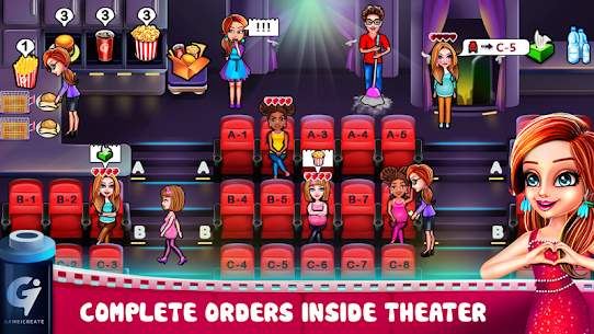 Hollywood Films Movie Theatre Tycoon Game MOD (Money) 3