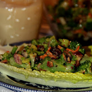 Old Fashioned Broccoli Salad.