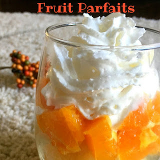 Healthy Orange Desserts Recipes