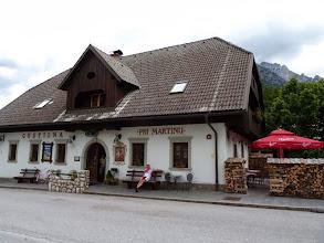 Photo: Für dieses Gasthaus in Kranska Gora gibt es von uns eine Empfehlung. Super Essen zu moderaten Preisen.