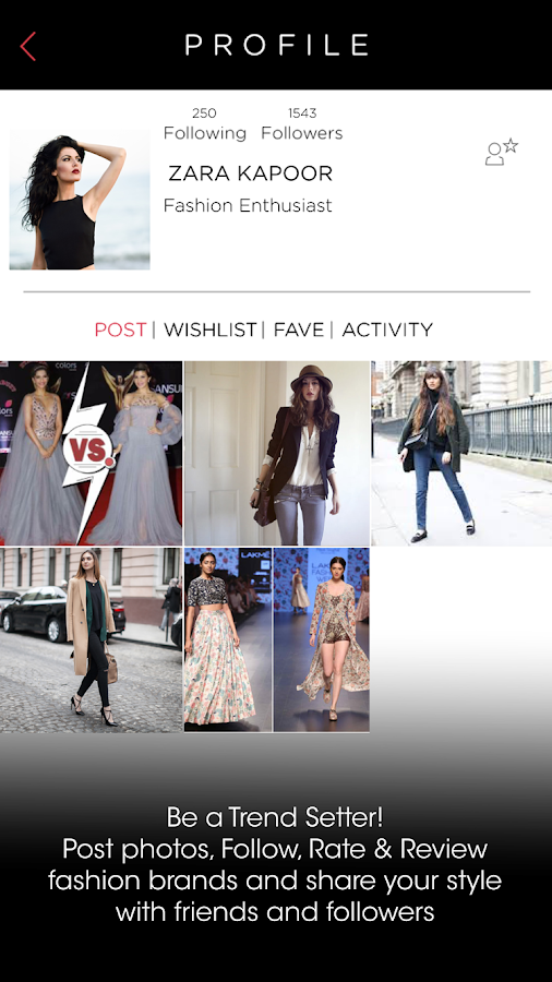 Findow: your fashion window- screenshot