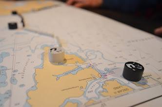 Photo: On repère la navigation ! vers notre objectif