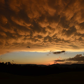 Power in the Sky by Sandra Millsap - Landscapes Weather ( clouds, sky, sunset, weather, storm )