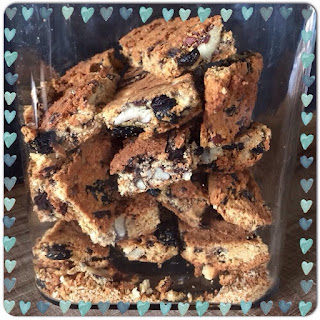Dark Choc & Pecan {Low Carb} Rusks make Mornings Extra Special.