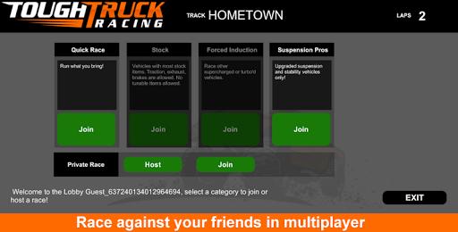 Tough Truck Racing screenshot 3
