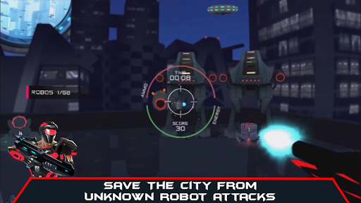 VR AR Dimension - Robot War Galaxy Shooter android2mod screenshots 5