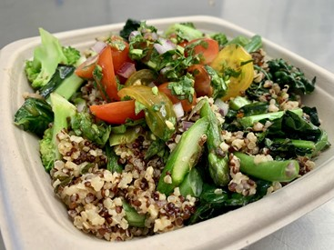 Quinoa Bowl with Veggies (add protein)
