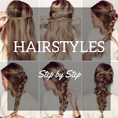 Hair Style app Step-by-Step