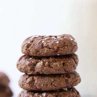 Chocolate Tahini Cookies.