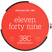 Popular Watch Face For Moto360