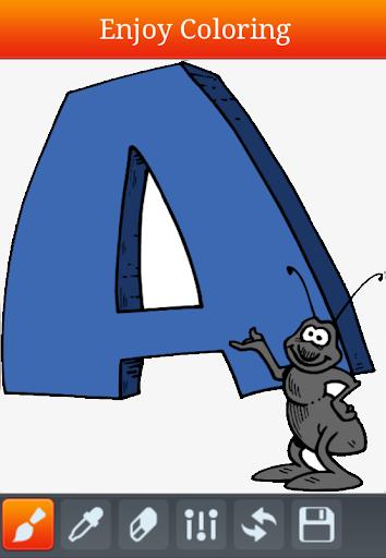 玩免費教育APP|下載字母著色兒童書籍 app不用錢|硬是要APP