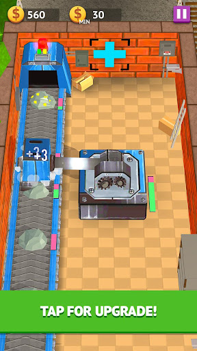 Craft Factory Tycoon: Tap and Get Rich 1.2.0 screenshots 1