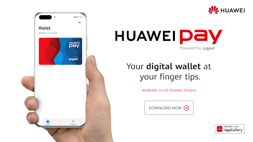 Huawei is rolling out its mobile payment service, Huawei Pay, in SA in partnership with QR code payment platform Zapper.