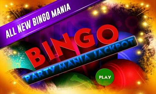 Bingo Party Mania Jackpot