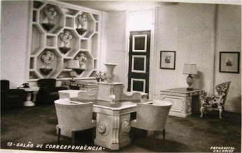 Photo: Sala de Correspondência do Palácio Quitandinha. Foto de Frank Scherschel