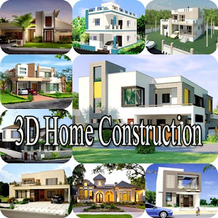 3D Home Construction - náhled