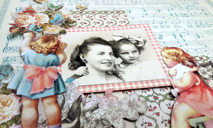 Mother and Daughter Layout, by Einat Kessler, Little Darlings, Product by Graphic 45, photo 3.jpg