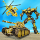 US Army Helicopter Robot Transformation War APK