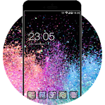 Galaxy Glitter HD Theme: Free Stylish Launcher Icon